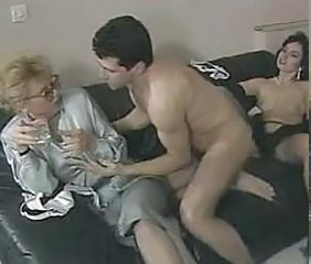 Vintage Glasses MILF Milf Ass Milf Threesome Threesome Milf