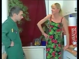 German European Blonde German Milf