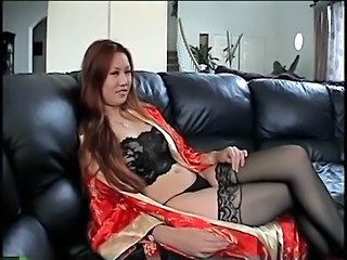 Asian in heat banged hard