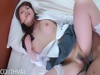 This nasty and horny babe Yukina Mori has a fine statuesque and big boobies...