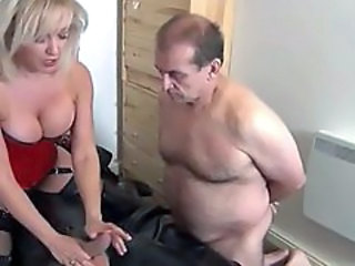 Femdom Cuckold  Beautiful Blonde Wife Milf