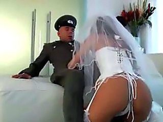 Army Bride Ass Blowjob Corset Corset Cute Anal