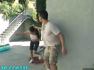 Forced Teen Outdoor Forced Outdoor Outdoor Teen