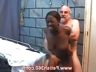 black slave ass play