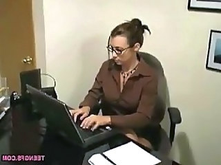 Margaret Gets Wet At The Office