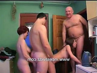 Family Kitchen Orgy Orgy Family Serbian Older Teen