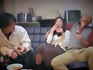Japanese Drunk Mom  Forced Japanese Milf