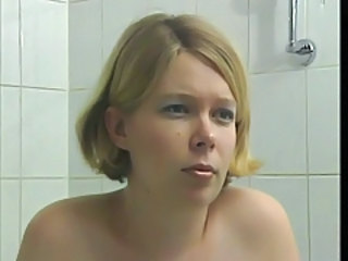Bathroom MILF Blonde