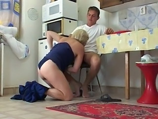 Old And Young Mom French Blowjob Mature French Mature Kitchen Mature