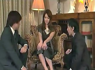 Persistent chaps pet and fuck sweet dolly with a great desire