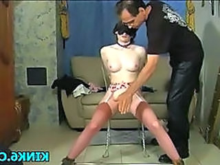 Bdsm Slave Skinny Punish Stockings