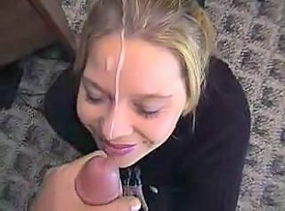 Amateur homemade facial YPP