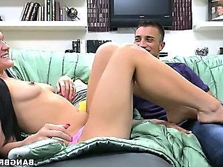 Bobbi Brixton Gives an English Foot Job