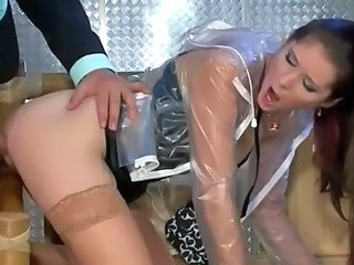 Doggystyle Hardcore Latex Milf Stockings Stockings