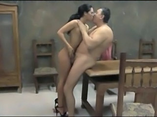 Brunette Handjob Old and Young Handjob Teen Old And Young Teen Ass