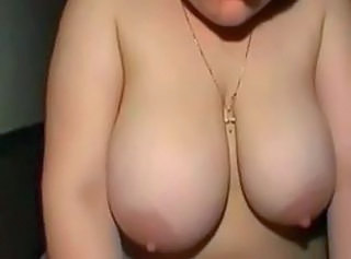 Redhead Fat Chubby Ex GF with Big Tits riding Cock, p2