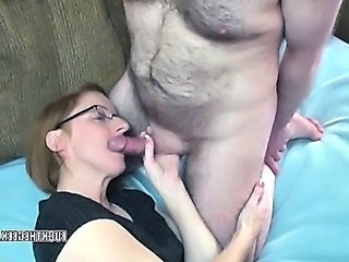 Mature slut Layla in pantyhose and property dicked