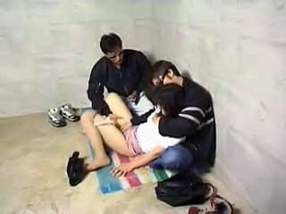 Japanese Threesome Asian Clothed Fuck Forced Cumshot Ass