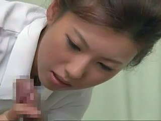 Japanese Nurse Gives Some Special Fuck Service To Her Patient
