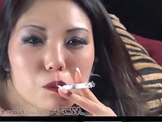 Smoking Asian MILF Milf Asian
