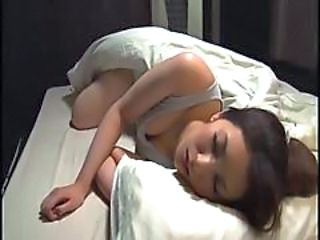 Daughter Japanese Sleeping Asian Boss Daughter