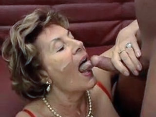 Granny German Cumshot Facial German German Granny Grandma Granny German