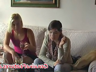 Drunk European Smoking Amateur Teen Czech Drunk Teen