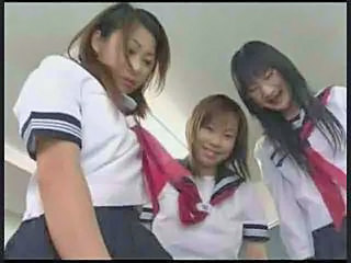 Threesome Uniform Asian Asian Teen School Teacher School Teen