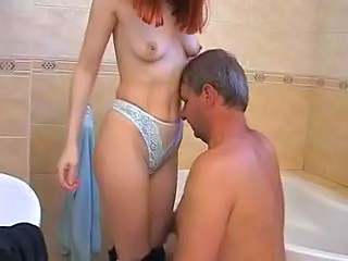 Daddy Old And Young Panty Bathroom Teen Bathroom Tits Dad Teen