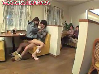 Public Asian Riding Asian Teen Public Public Asian