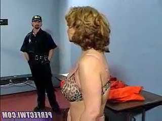 Prison Mature Uniform Abuse Son