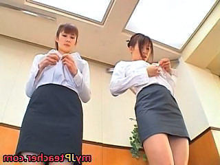 Junna Aoki and Erika kirihara wicked