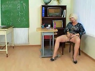 Video from: tnaflix | Milf teacher loves to masturbate