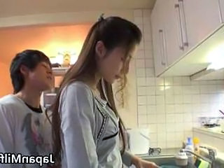 Kitchen Asian Japanese Milf Milf Asian