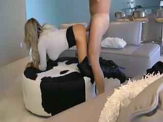 hot fuck in boots with e ...