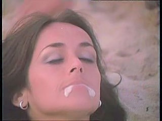 Beach Cumshot Swallow Vintage