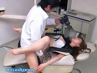 Doctor  Asian Clothed Fuck Milf Asian Milf Office