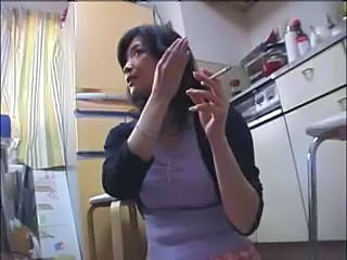 Wife Smoking Kitchen Kitchen Sex Milf Asian Wife Milf