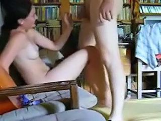 homemade amateur couple fucking in different positions