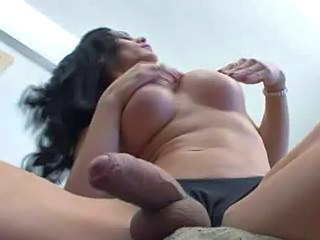 Shemale Bareback Transsexual Big Ass Anal Wife Gangbang