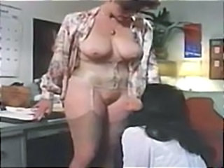 Vintage porn with these two pros eating pussy in the kitchen