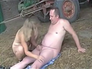 Small Cock Older Farm Farm Handjob Cock Handjob Mature