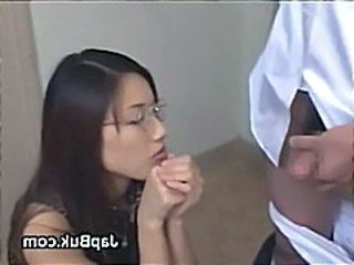 Japanese schoolboy assfingered by sexy teacher