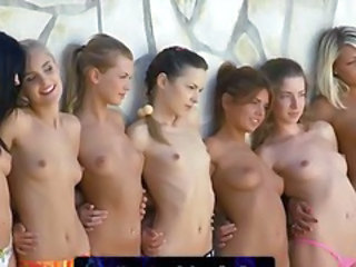 Seven unbelievably hot babes finger