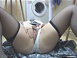 Bathroom Panty Stockings Busty Babe Mature Stockings Stockings