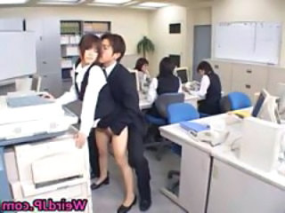 Cute Asian Secretary Fucked part2