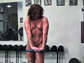 Small Tits Sport Muscled Gym