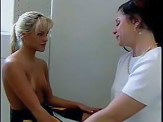 Lesbian sex in shower with two coeds tubes