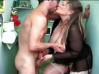 Handjob Old And Young BBW Ass Big Tits Bbw Mature Bbw Mom