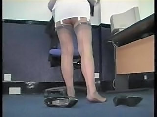 Office Secretary Stockings Corset Mature Stockings Stockings